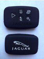 Jaguar 2015 Key Fob Case Cover Black For Models XF, XK, XFR, F-type, SE, EX