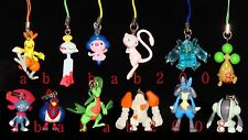 Bandai Pokemon figure strap Gashapon 2005 (full set of 12 strap figures)