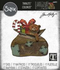 Sizzix Tim Holtz Thinlits Dies - Toyland Colorize 664972