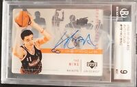 YAO MING ROOKIE CARD 2002-03 UD Glass AUTO FOCUS #YM BGS 9 SUPER RARE!!!!!