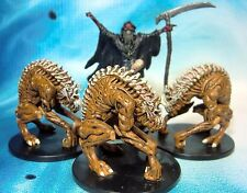 Dungeons & Dragons Miniatures Lot  Aspect of Nerull Cerebrilith Demon !!  s100