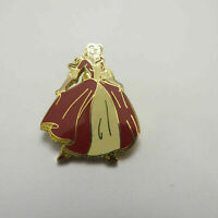 Disney Belle Red Dress Holiday Christmas Pin