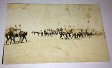 Old Antique World War 1 American Calvary Drilling Real Photo Postcard, WW1 RPPC!