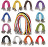 10Pcs Leather Weave Chains Necklace Friendship Bracelets String Cord Gifts Acces