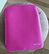 Incase ,Pink  Protective Cover  for iPad with zipper on top