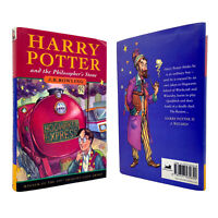 Harry Potter Philosopher's Stone – 1ST EDITION – 9TH PRINT – Bloomsbury Rowling