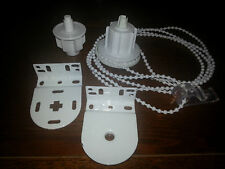 New Blind Parts Roller / Holland Blind Side Control Unit, white chain 38mm x 1