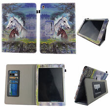 HORSE FOLIO CASE IPAD MINI 4 IV SLIM FIT POCKET STAND TABLET COVER
