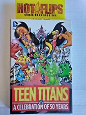 Teen Titans- A Celebration Of 50 Years -Hard Cover-Free Shipping