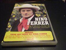 """RARE! DVD PROMO """"NINO FERRER ANTHOLOGIE - SON DERNIER CONCERT"""""""