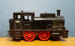 Old Built In Britain Railway Train Clockwork Wind Up Model