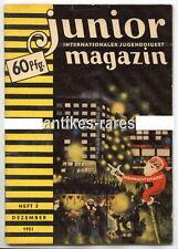 Junior internationaler Jugenddigest Magazin Heft 3 Dezember 1951