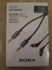Sony MUC-M20BL1 Cable for Headphone XBA-Z5, A2, A3, H3, X2 & PHA-3