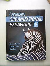 Canadian Organizational Behaviour 9th Edition by Steven L. McShane