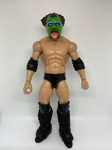 WWE Custom Mattel Elite The Missing Link Wrestling Figure Flashback Playable WWF