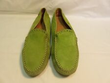 TOD'S GREEN SUEDE UPPER MADE IN UNKOWN SIZE 38 US 7