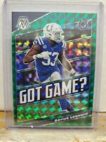 2020 Mosaic Football Darius Leonard Got Game Green Mosaic