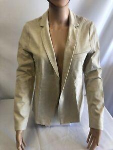 Veste Femme Desigual réf 19SWEWX9 100%Coton Couleur Beige Neuf!!!!