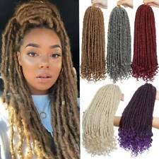 Lady Thick Goddess Crochet Braids Faux Locs Hair Extensions Natural Dreadlock