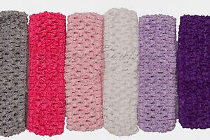 Tutu supplies CROCHET headband / waistband sz 1.5 inches wide Tested EN71-2 & -3