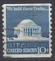 USA Briefmarke gestempelt 10c We hold these Truths / 1569