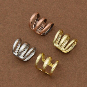 5 Pcs Dreadlock Beads Adjustable Hair Braid Rings Cuff Clips Tube For Braiding