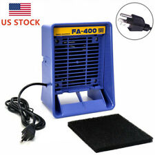 Soldering Smoke Absorber Fan Welding Fume Extractor Air Filter Bench Top Ac 110v