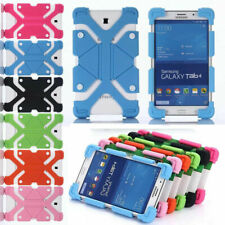 "For Samsung 7"" 8"" 10"" inch Tablet Universal Silicone Soft Rubber Shockproof Case"