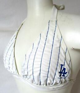 Los Angeles Dodgers Women's S String Bikini Bathing Suit Swimsuit Top C1 2003