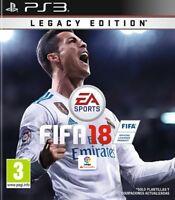 FIFA 18 2018 EN CASTELLANO ESPAÑOL NUEVO PRECINTADO  PS3