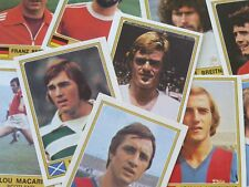 Panini Euro Football 76/77 Stickers - Complete Your Collection