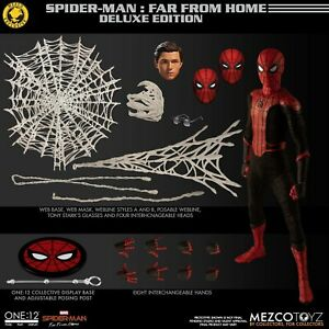 Mezco One:12 SPIDER-MAN Far From Home Deluxe Edition Summer Exclusive Homecoming