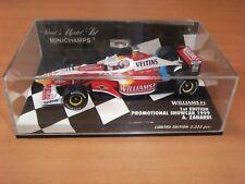 F1 1/43  MINICHAMPS : WILLIAMS F1 1999  A.ZANARADI : ETAT NEUF EN BOITE VITRINE