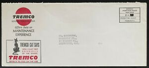 Tremco, Leaside Toronto illustrated advertising cat  Canada permit mail c 1940s