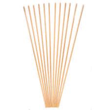 12Pcs 31'' 8.5mm Yellow Wood Arrow Shafts Archery Shafts F Shooting Hunting Diy