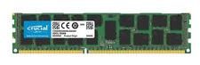 Crucial 16GB Ddr3l 1600 MT / S Pc3-12800 Rdimm 240 pines Dr X 4