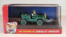Atlas 1/43 Spirou & Fantasio Willys MB Jeep OVP #1668