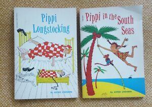 Pippi Longstocking, South Seas ...(2) Books by Astrid Lindgren