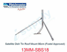 MATCHMASTER Satellite Dish Tin Roof Mount 90cm (Foxtel Approved)  13MM-SBS18