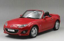 Mazda Miata MX-5 MX5 Dealer Edition Red 1/18 Scale Diecast Model Car Toy
