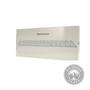 NEW Apple Wireless Rechargable QWERTY Magic Keyboard in Silver - US English