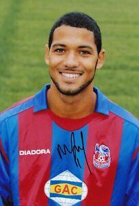 Football - Jobi McAnuff - Hand Signed 12x8 Photograph - Crystal Palace COA