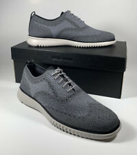 COLE HAAN 2.Zerogrand Stitchlite Oxford Wingtip Gray Size 11.5 *NEW* C27565 $200