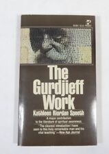 The Gurdjieff Work By Kathleen Riordan Speeth (1949, 2nd Print. Paperback)