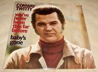 You've Never Been This Far Before by Conway Twitty (Vinyl LP, 1973 USA Sealed)