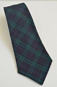 New Polo Ralph Lauren Double RL RRL Handmade Tartan Plaid Wool Tie