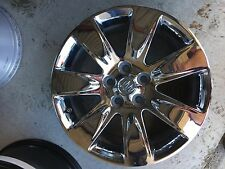 """Used 18"""" Buick Lacrosse Chrome wheel rim 4095 Cap and TPMS included."""