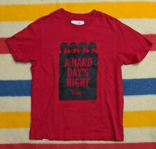 "Chocoolate x The Beatles ""A Hard Days Night"" Single Stitch T-Shirt [SMALL]"