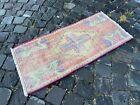 Handmade rug, Small rug, Doormats, Turkish rug, Vintage rug | 1,4 x 3,0 ft