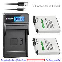 Kastar Battery LCD Charger for Nikon EN-EL12 & Nikon Coolpix S9050 Coolpix S9100